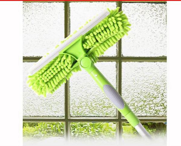 Chenille Window Glass Squeegee high quality Scraper Rubber for home cleaning