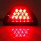 Universal Car 12 LED Rear Tail Brake DRL Stop Light Strobe Fog Lamp