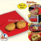 2X Baked Potato Cooking Bag   Cooking Tools Steam Pocket In 4 Minutes Easy Cooking Potato Bag