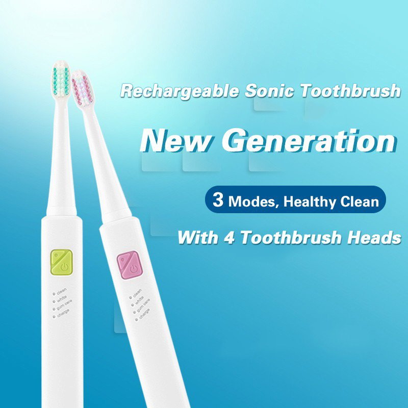 USB Charging Sonic Electric Toothbrush   New gen.