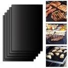 5pcs/Set Reusable BBQ Grill Mat  Easy Clean Nonstick Bakeware Cooking Tool