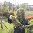 Hunting grass type Sniper  camouflage headvie hood cap