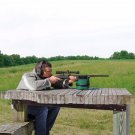 Shooting Rear Gun Rest Bag Set Portable Front & Rear Rifle Target
