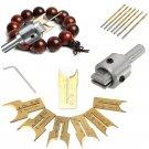 16Pcs Carbide Ball Blade Drill Bits Woodworking Molding Tools