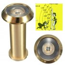 180 Degree Wide Angle Door Viewer Brass Sight Peephole