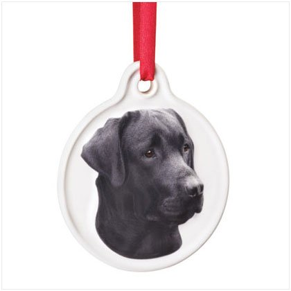 Discount Christmas Shopping: Best Friend Black Labrador Ornament