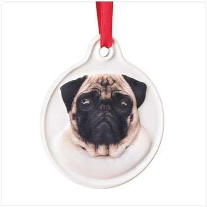 Discount Christmas Shopping: Best Friend Pug Ornament