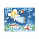 Discount Christmas Shopping: Christmas Angel Fleece Blanket