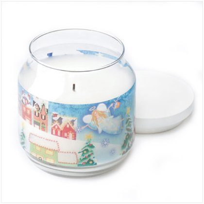 Discount Christmas Shopping: Christmas Angel Jar Candle