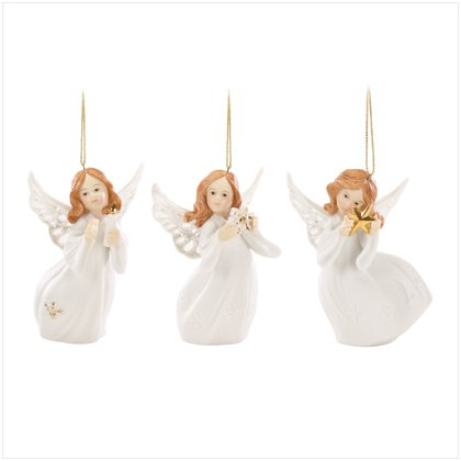 Discount Christmas Shopping: Christmas Angel Ornament Set of 3