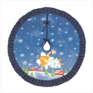 Discount Christmas Shopping: Christmas Angel Tree Skirt