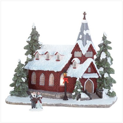 Discount Christmas Shopping: Christmas Church Light