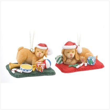 Discount Christmas Shopping: Christmas Puppies Ornaments