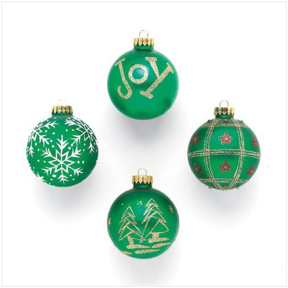 Discount Christmas Shopping: Glass Christmas Ball Ornaments