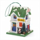 Discount Christmas Shopping: Merry Christmas Wood Birdhouse Bird house