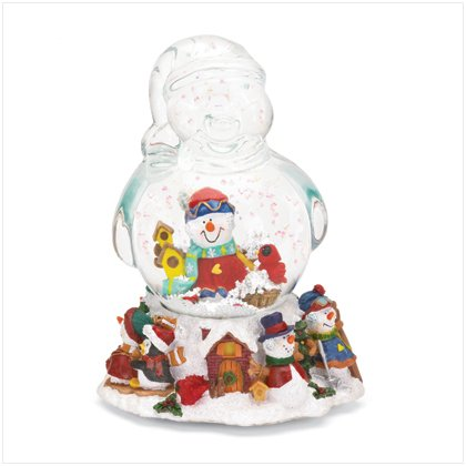 Discount Christmas Shopping: Musical Snowman Snowglobe