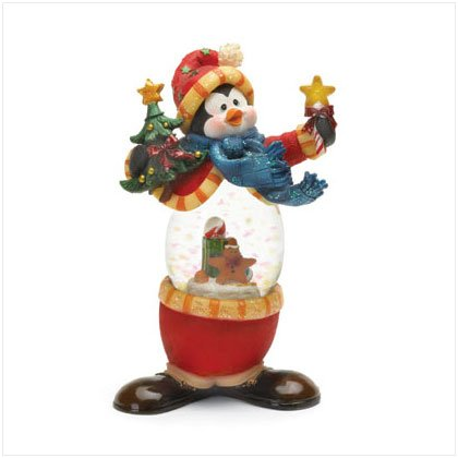 Discount Christmas Shopping: Penguin Snowglobe