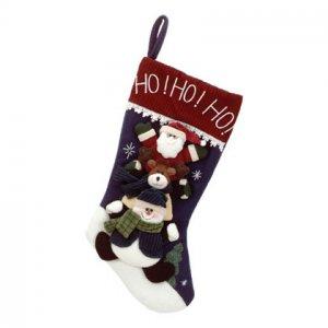 Discount Christmas Shopping: Plush Xmas Friends Stocking