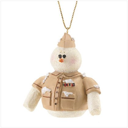 Discount Christmas Shopping: Snowberry Cuties Army Ornament