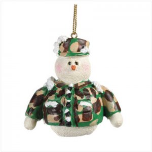 Discount Christmas Shopping: Snowberry Cuties Marines Ornament