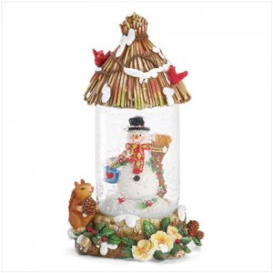 Discount Christmas Shopping: Snowman Snow Globe Snowglobe