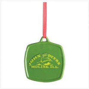 Discount Christmas Shopping: John Deere Original Logo Ornament