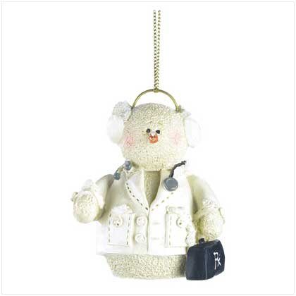 Discount Christmas Shopping: Snowberry Cuties Doctor Ornament