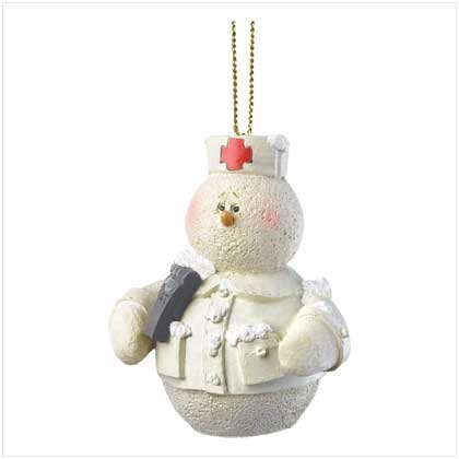 Discount Christmas Shopping: Snowberry Cuties Nurse Ornament
