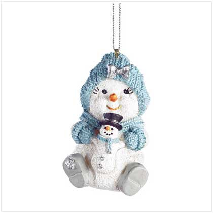 Discount Christmas Shopping: Snowbuddies Powderpuff Ornamnt