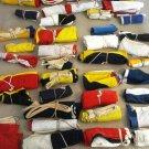 VINTAGE Naval Signal Flag SET -  SHIP'S 100% ORIGINAL - Set of Total 14 flag(43)