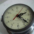 SCHATZ Marine WALL QUARTZ Clock - BRASS - Made in GERMANY