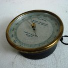 F. DARTON & Co. Ltd. Watford Circa 1920  Aneroid Barometer * No. 1025 * Brass