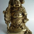 Antique LAUGHING BUDDHA  - BRASS - BEST QUALITY