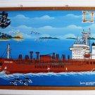 Oil PAINTING -from PASSSENGER  Vessel - 100% ORIGINAL (1)