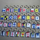 MARINE Signal Flags / Flag KEY CHAIN - Total 40 Key Chain - BOTH SIDE