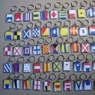 Naval Signal Flags / Flag KEY CHAIN - Total 50 Key Chain - BOTH SIDE
