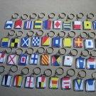 Naval Signal Flags / Flag KEY CHAIN - Total 40 Key Chain - BOTH SIDE