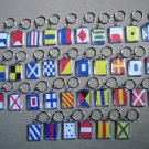 Naval Signal Flags / Flag KEY CHAIN - Total 36 Key Chain - BOTH SIDE