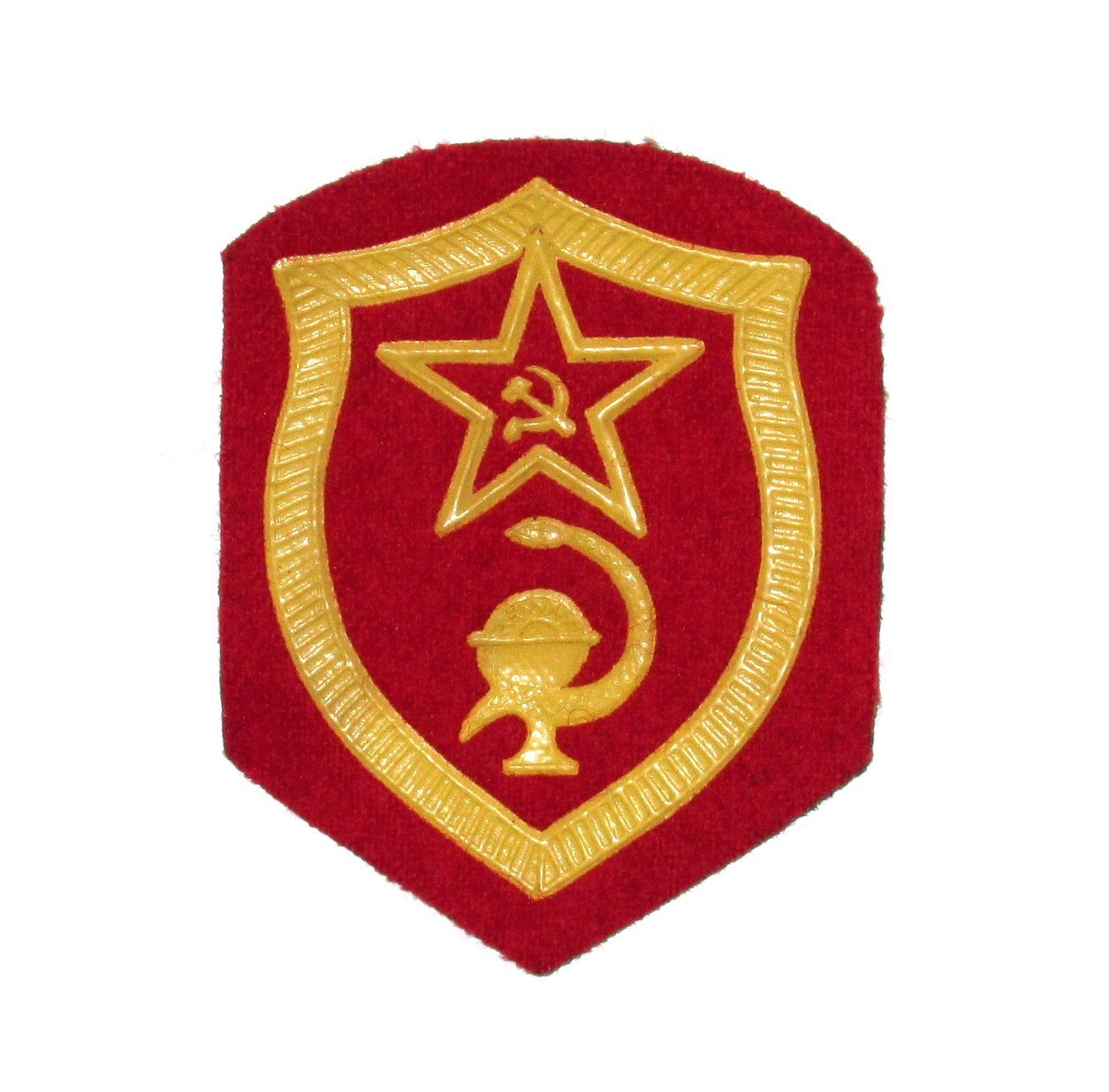 Original Patch Army Soviet Union Communist Russia - USSR - Medical Troops