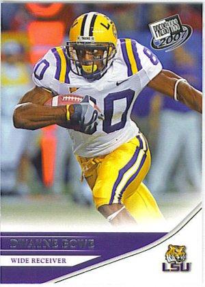 2007 Press Pass Dwayne Bowe RC #14
