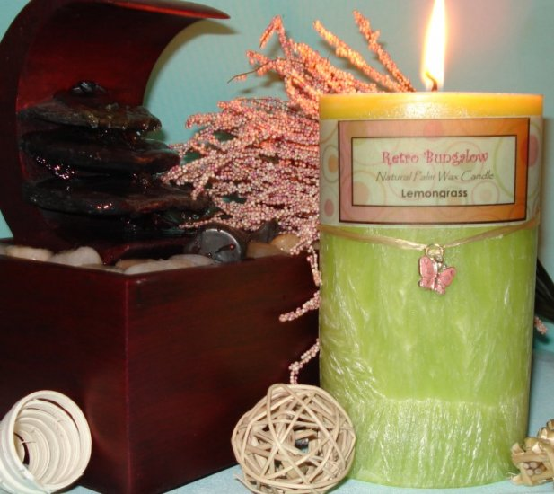 Oval Pillar Candle