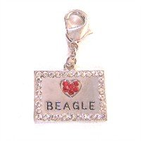 Swarovski Crystal Breed ID Tag