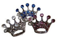 Swarvoski Crystal Crown Barette