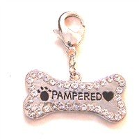 Swarovski Crystal Pampered Tag