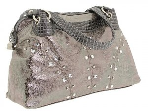 Authentic Kathy Van Zeeland Bling It On II Satchel $93