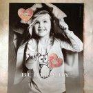 princess pink Heart  Shinny Embellishments patch DIY hair Clip 4designcraft