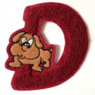 D Doggy Dog embroidery embroidered badge DIY Baby Gift Embellishment4DesignCraft
