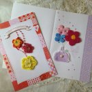gift card-Embroidery Embroidered special occasion brithday DIY OOAK Embellishment ※4DesignCraft
