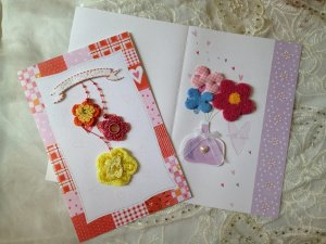 gift card-Embroidery Embroidered special occasion brithday DIY OOAK Embellishment �4DesignCraft
