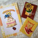 gift card-Embroidery  special occasion brithday thanksgiving  Embellishment  4DesignCraft
